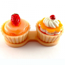 "Lenscase ""Cupcakes"" PEACHES AND CREAM"