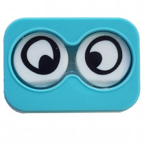 "Lenscase ""Minicase"" BLUE CRAZYEYE"
