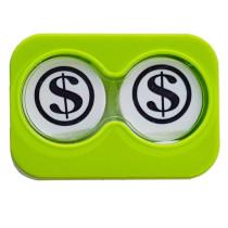 """Lenscase """"Minicase"""" GREEN DOLLAR"""