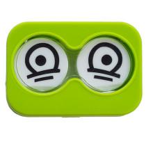 """Lenscase """"Minicase"""" GREEN SAD"""