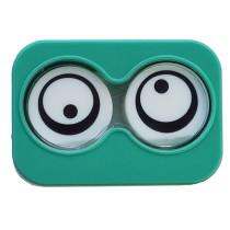 """Lenscase """"Minicase"""" GREEN SPIN"""