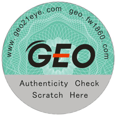 GEO Medical Stickers